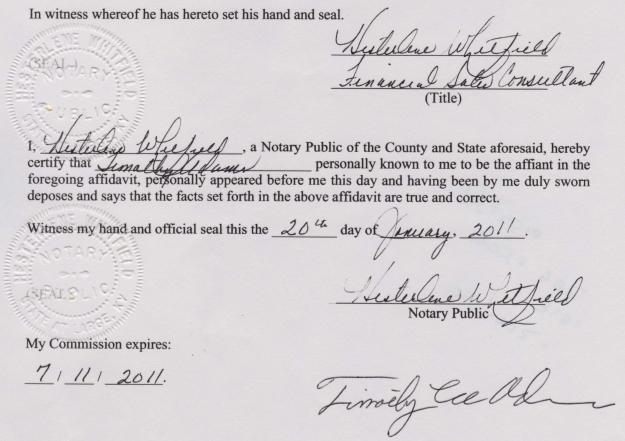 Tim adams affidavit no obama birth certificate in hawaii no tim adams affidavit no obama birth certificate in hawaii no medical records queens medical center kapiolani medical center yelopaper Gallery